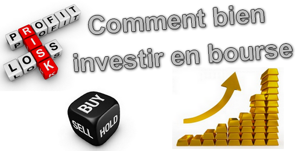 Illustration comment bien investir en bourse